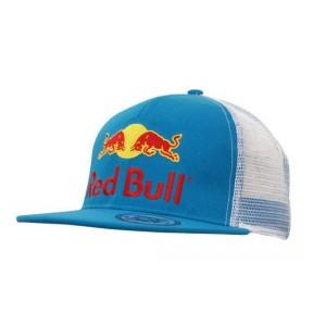 Truckers z płaskim daszkiem + haft płaski Red Bull
