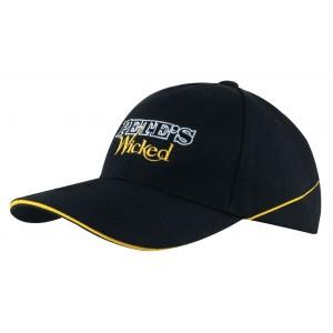 4013 - czapka z haftem