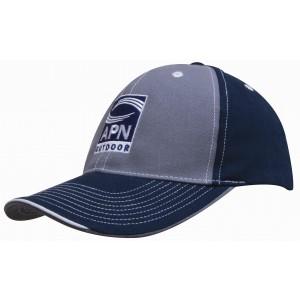 4053 - czapka z haftem