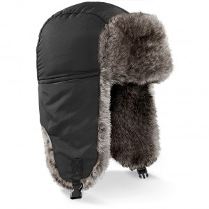 Czapka Sherpa - B345 - Black