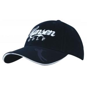4022 - czapka z haftem