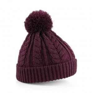 Czapka  Snowstar - B454 - Burgundy