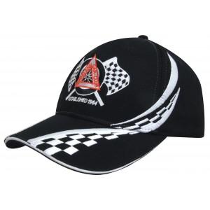 4076 - czapka z haftem