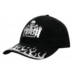 4081 - czapka z haftem