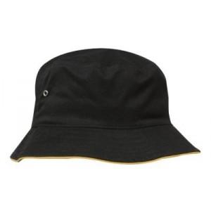 kapelusz z lamówką - mod. 4223