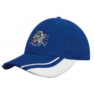 4073 - czapka z haftem