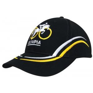 4075 - czapka z haftem